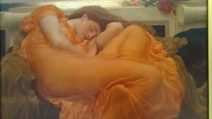"""""""Sol ardiente de junio"""" de Lord Frederic Leighton, 1895. Museo de Arte de Ponce, PR."""