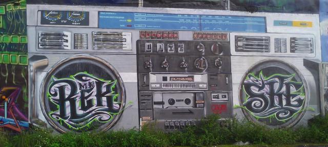 El radio de Mr. Rek Ske
